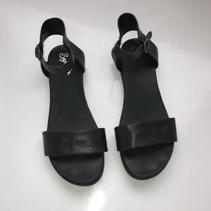 Seychelles   Leather ankle strap sandals